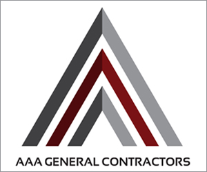 business logo of company specializing in commercial construction